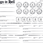 Reign in Hell Cabal Sheet