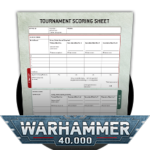 WH40k Tournament Scoring Sheet